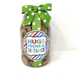 Oh Sugar *Oh Sugar 10oz Cookie Jar Hugs From a Distance