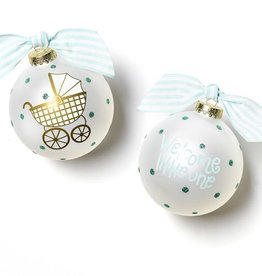 Coton Colors Ornament Welcome Little One Carriage Boy
