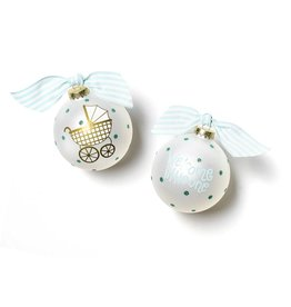 Ornament Welcome Little One Carriage Boy