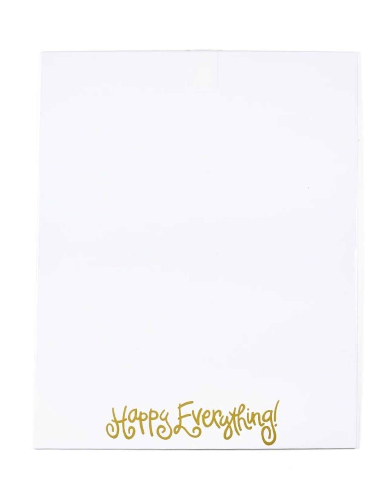Coton Colors Happy Everything Dry Erase Large Magnetic Message Board