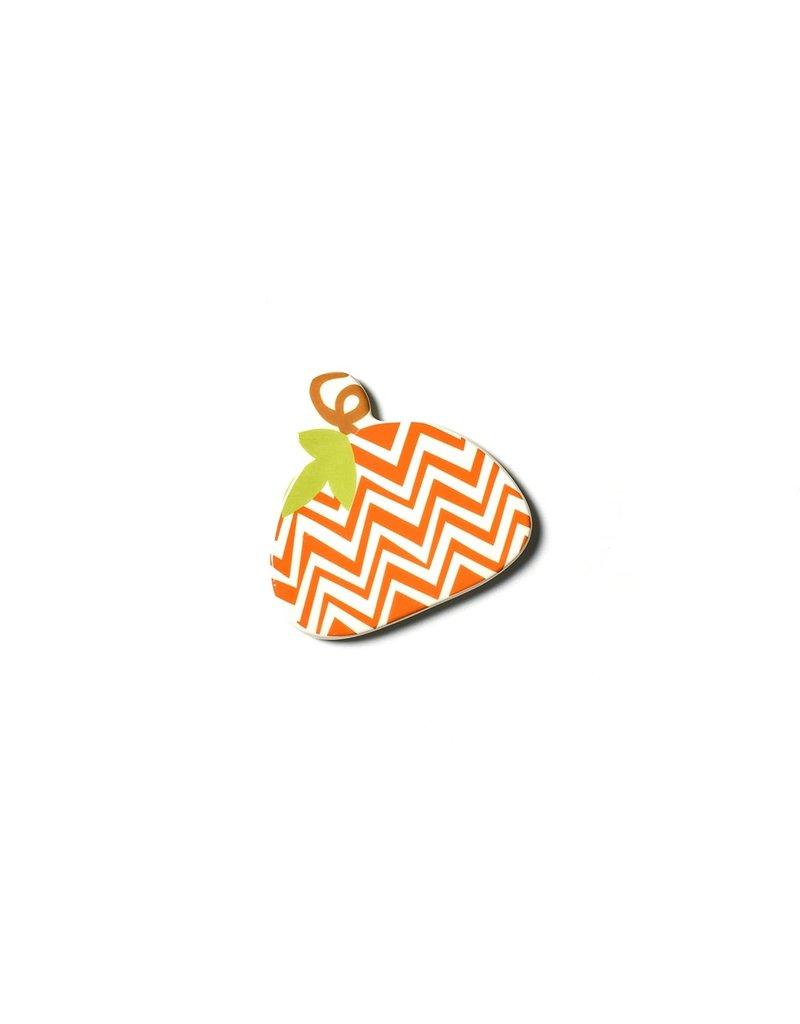 Happy Everything Mini Attachment Chevron Pumpkin