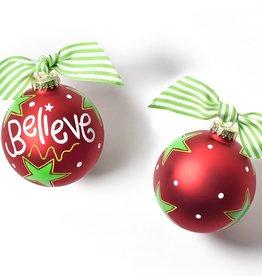 Coton Colors Ornament Believe