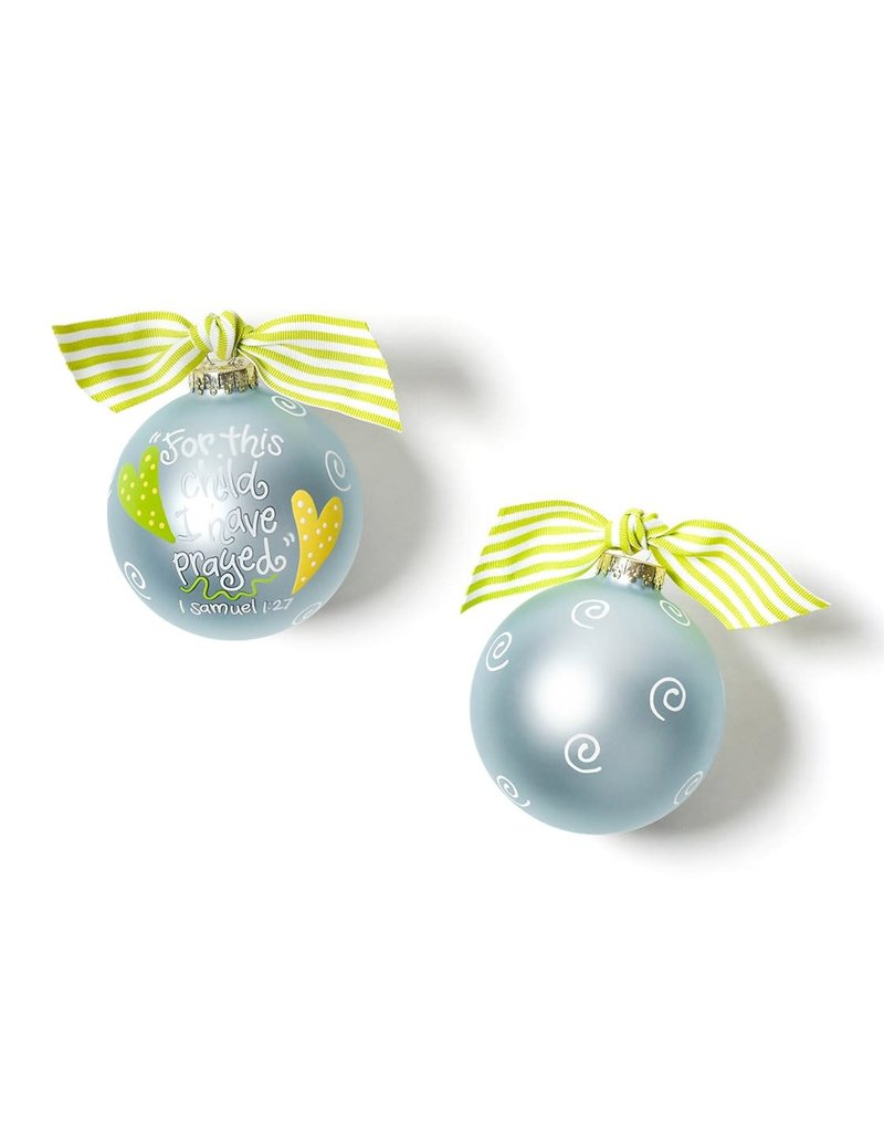 Ornament For this Child Blue
