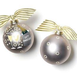 Coton Colors Ornament Happy Anniversary
