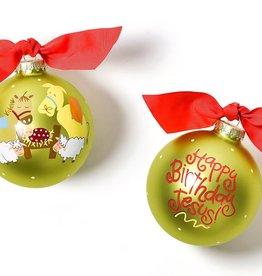 Coton Colors Ornament Happy Birthday Jesus