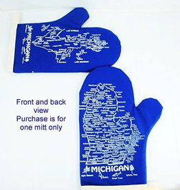 The Professionals Michigan Oven Mitt