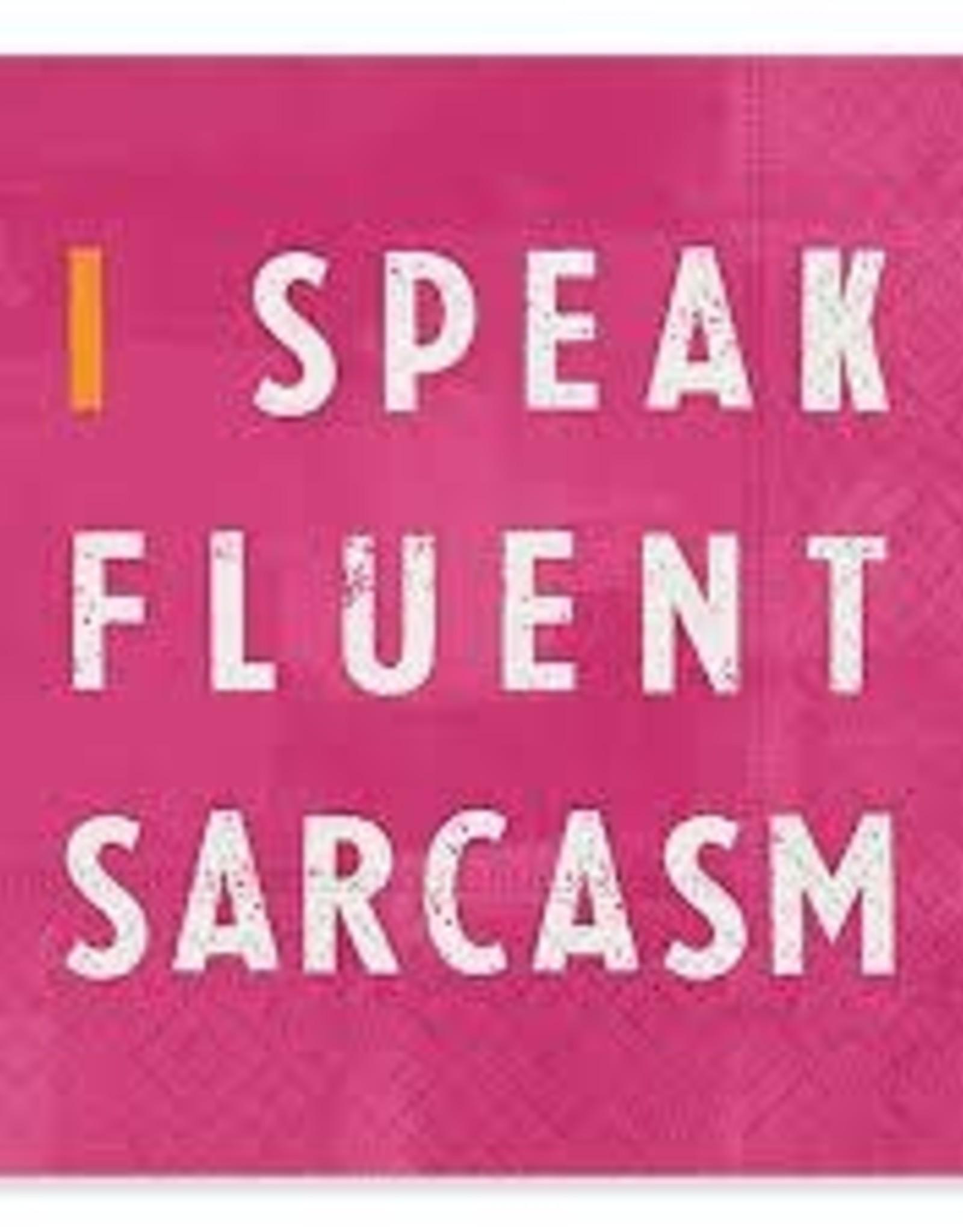 Cocktail Napkin Fluent Sarcasm