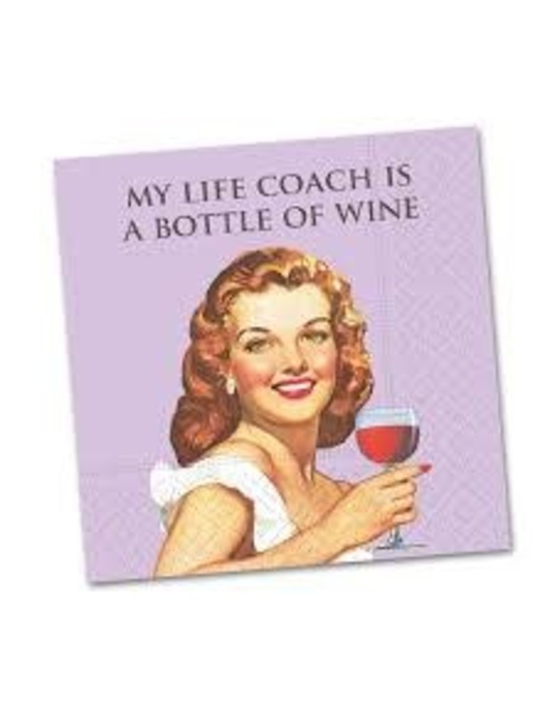 Cocktail Napkin My LIfe Coach
