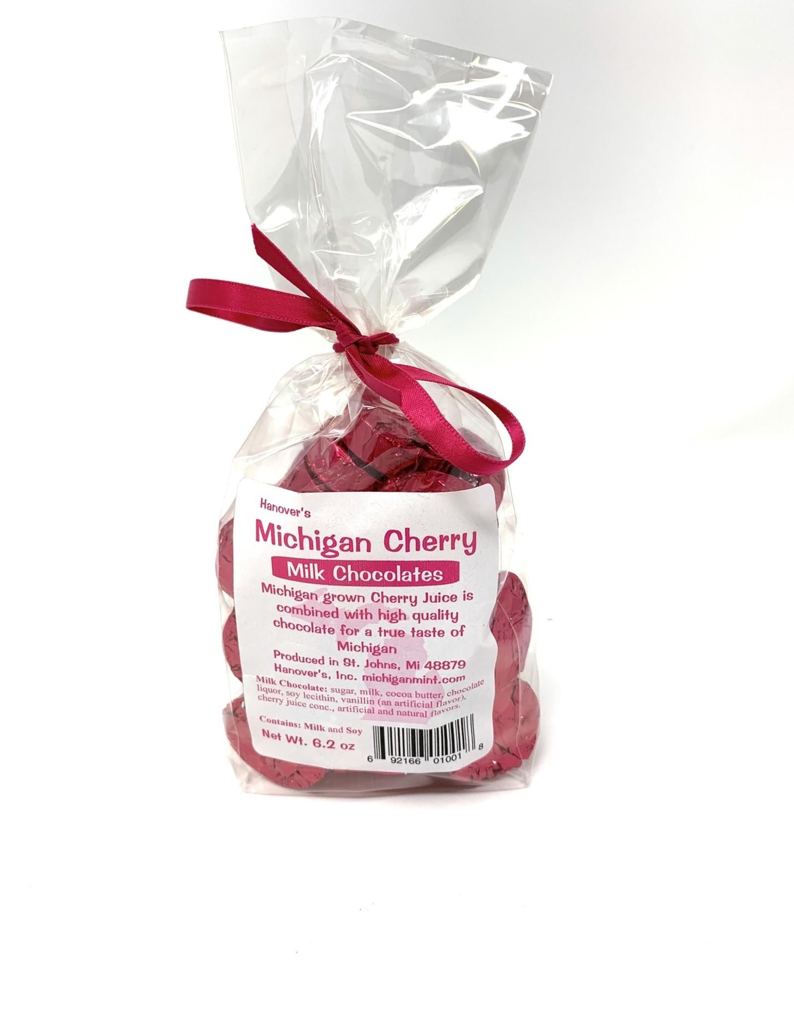 Hanover's Michigan Mints Michigan Mints Cherry Milk Chocolate