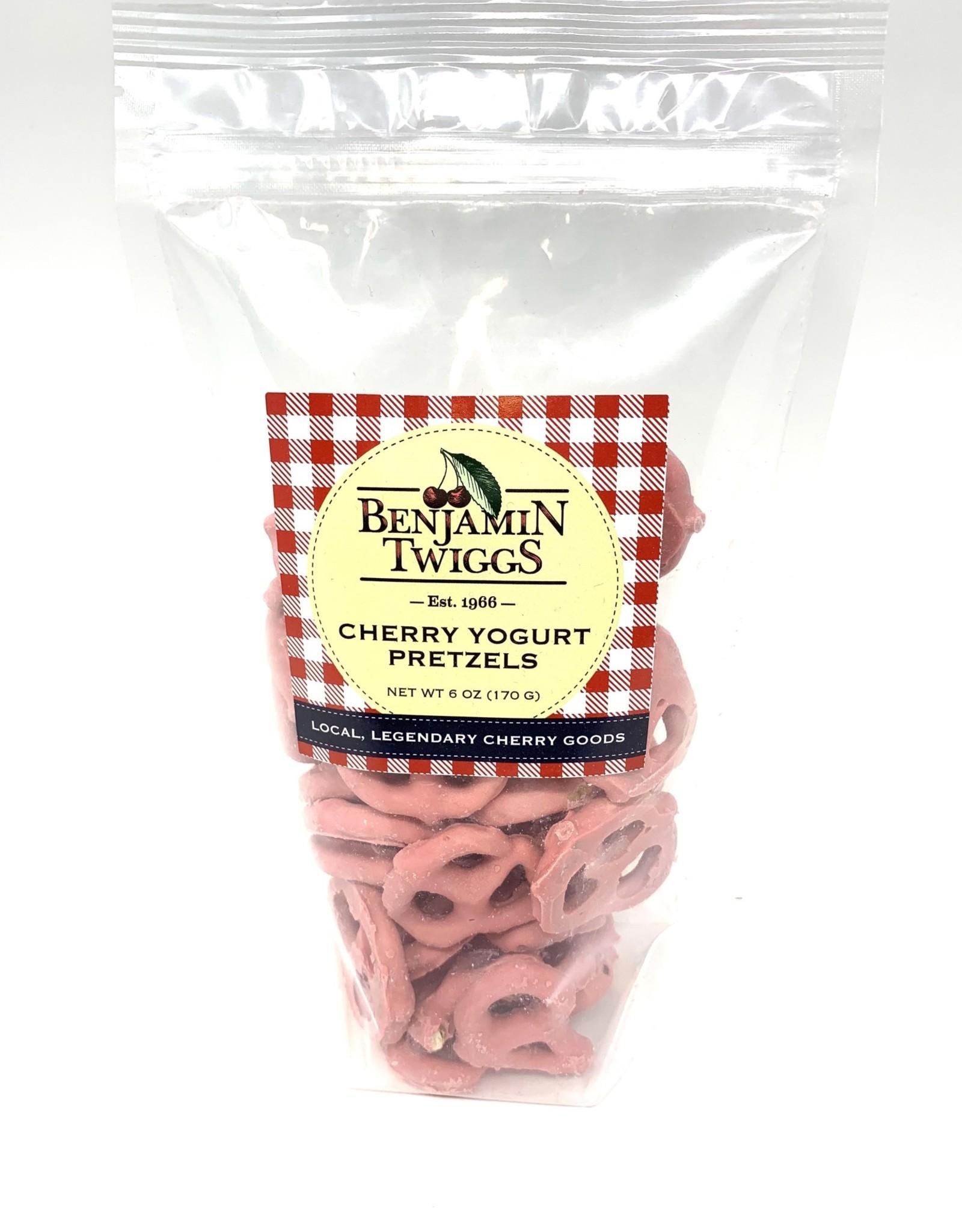 Benjamin Twiggs Cherry Yogurt Pretzels