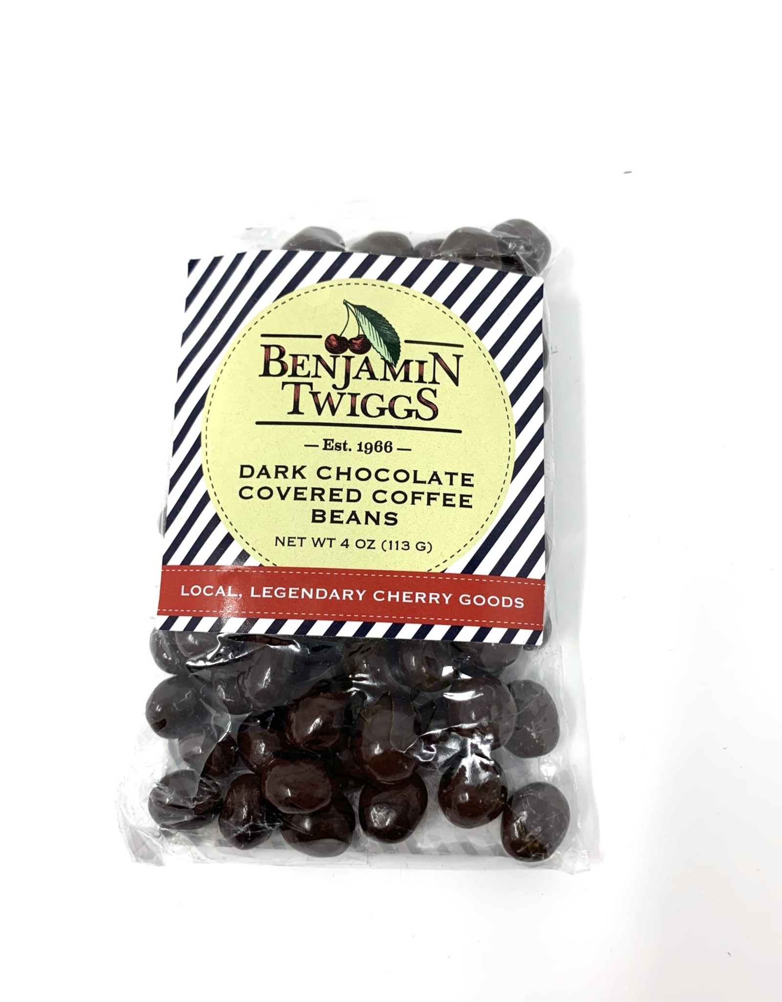 Benjamin Twiggs Dark Chocolate Covered Coffee Beans