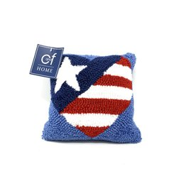 Patriotic Heart Pillow - Small