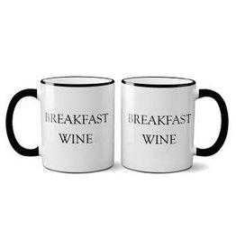 Retrospective Mugs Snarky Mugs Breakfast Wine