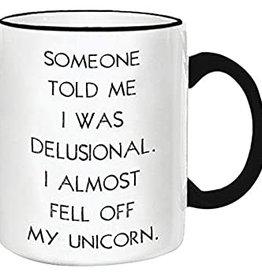 Retrospective Mugs Snarky Mugs Unicorn