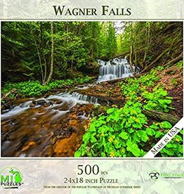 MI Puzzles (Phil Stagg Photography) 500 Piece Puzzle Wagner Falls