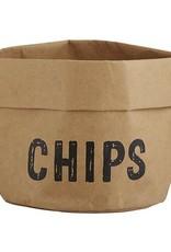 Santa Barbara Large Holder Chips Natural with Black