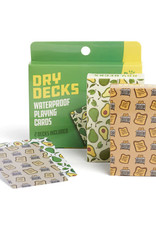 Nod Products Dry Deck Playing Cards Avacodo Toast
