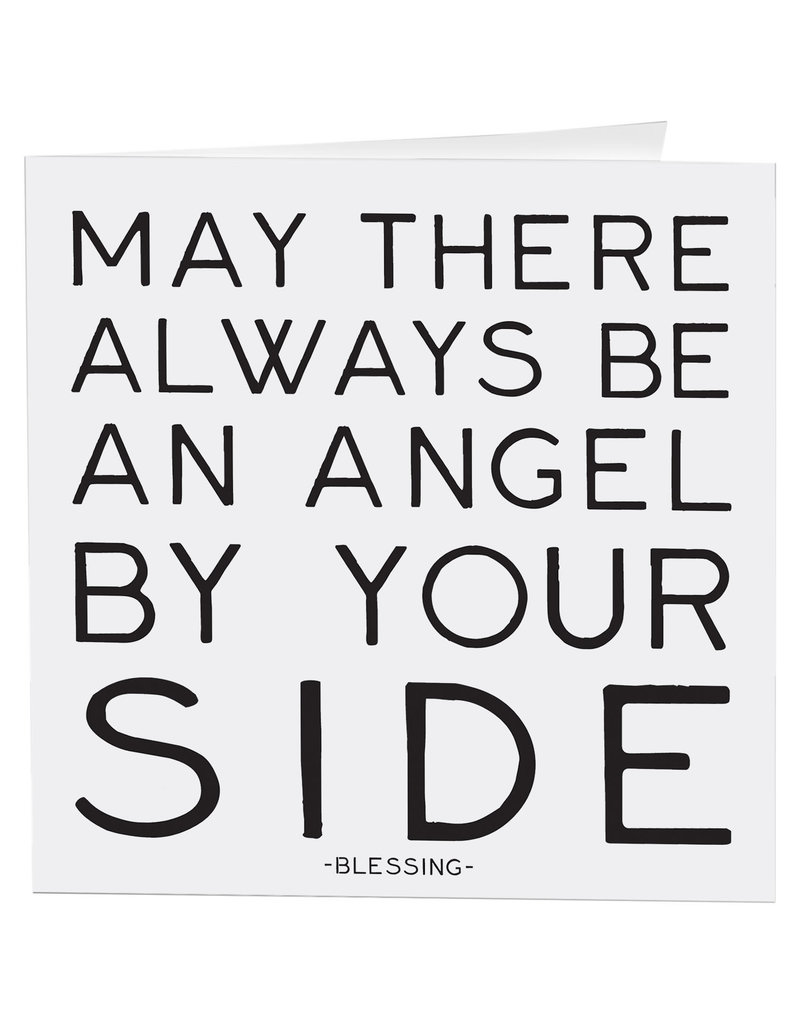 Quotable Card Angel By Your Side
