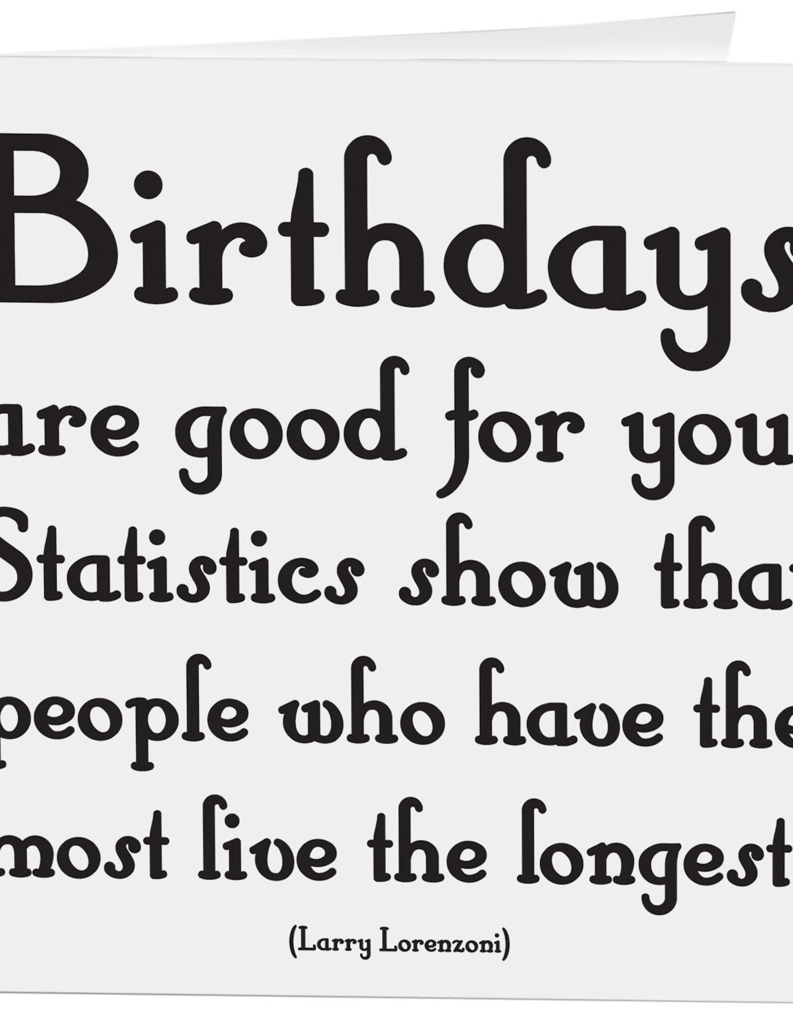 Quotable Card Birthdays Are Good