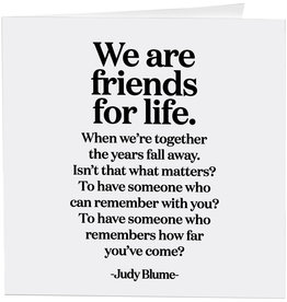 Quotable Card Friends For Life