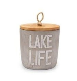 Mud Pie Candle Lake Life Citronella