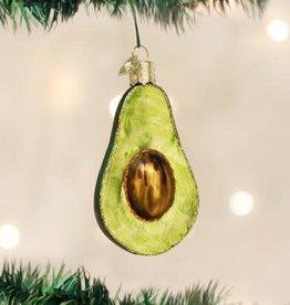 Old World Christmas Ornament Avocado