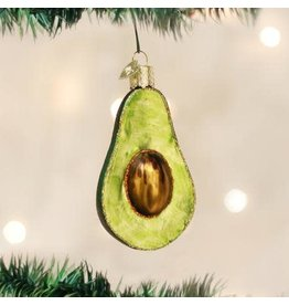Old World Christmas Ornament Avocado