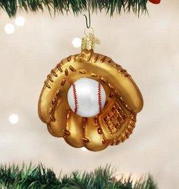 Old World Christmas Ornament Baseball Mitt