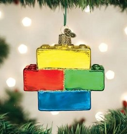 Old World Christmas Ornament Building Blocks