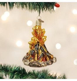 Old World Christmas Ornament Campfire