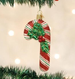 Old World Christmas Ornament Candy Cane