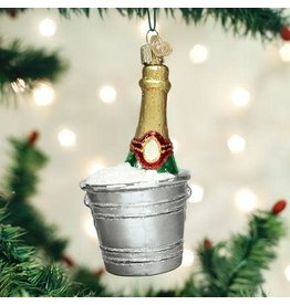Old World Christmas Ornament Chilled Champagne