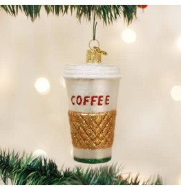 Old World Christmas Ornament Coffee To Go