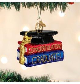 Old World Christmas Ornament Congrats Grad