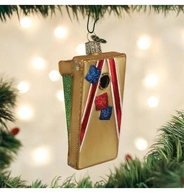 Old World Christmas Ornament Corn Hole Game