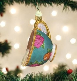 Old World Christmas Ornament Cup of Tea