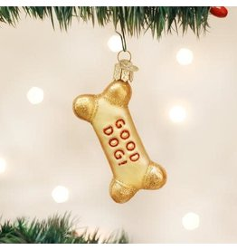 Old World Christmas Ornament Dog Biscuit