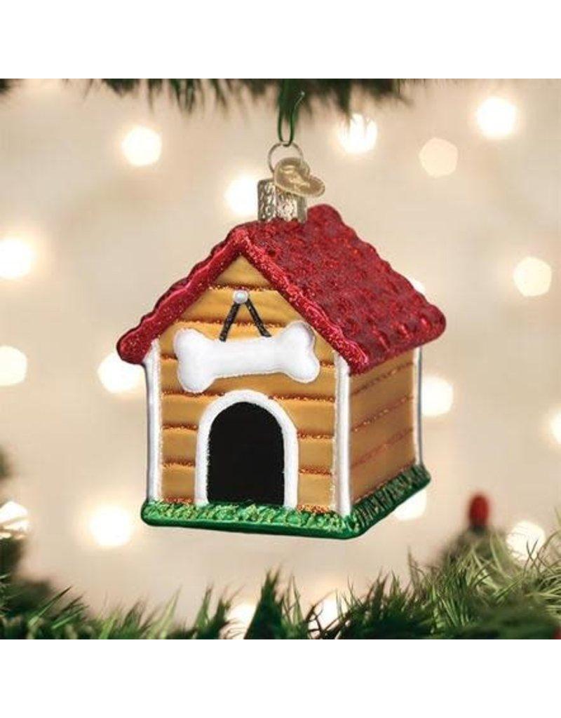 Old World Christmas Ornament Dog House