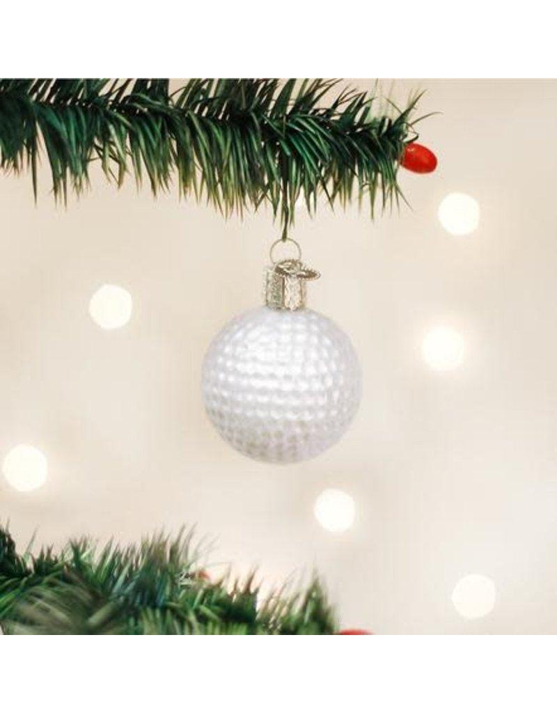 Old World Christmas Ornament Golf Ball