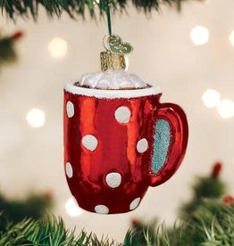 Old World Christmas Ornament Hot Cocoa