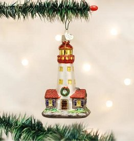 Old World Christmas Ornament Lighthouse