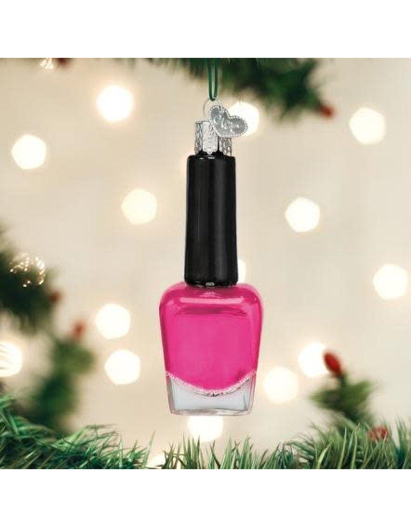 Old World Christmas Ornament Nail Polish