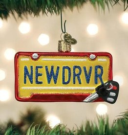 Old World Christmas Ornament New Driver