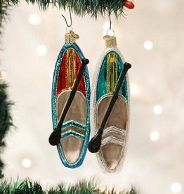 Old World Christmas Ornament Paddle Board