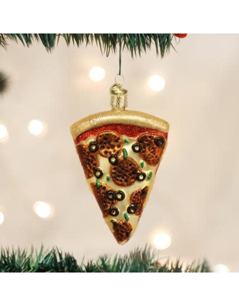 Old World Christmas Ornament Pizza Slice