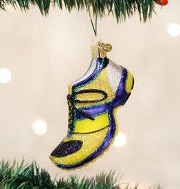 Old World Christmas Ornament Running Shoe