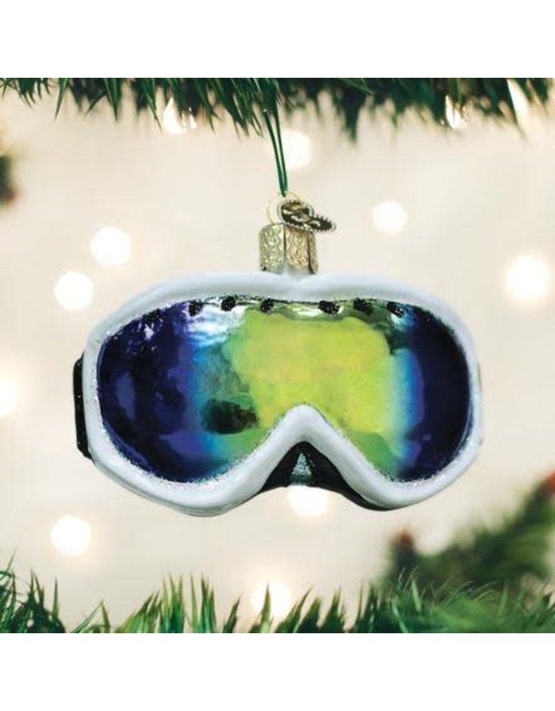 Old World Christmas Ornament Ski Goggles