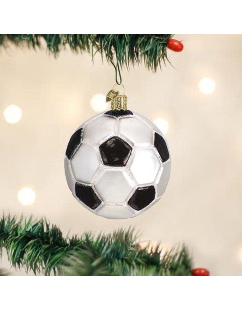 Old World Christmas Ornament Soccer Ball