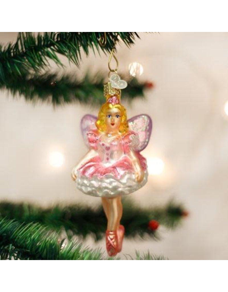 Old World Christmas Ornament Sugar Plum Fairy