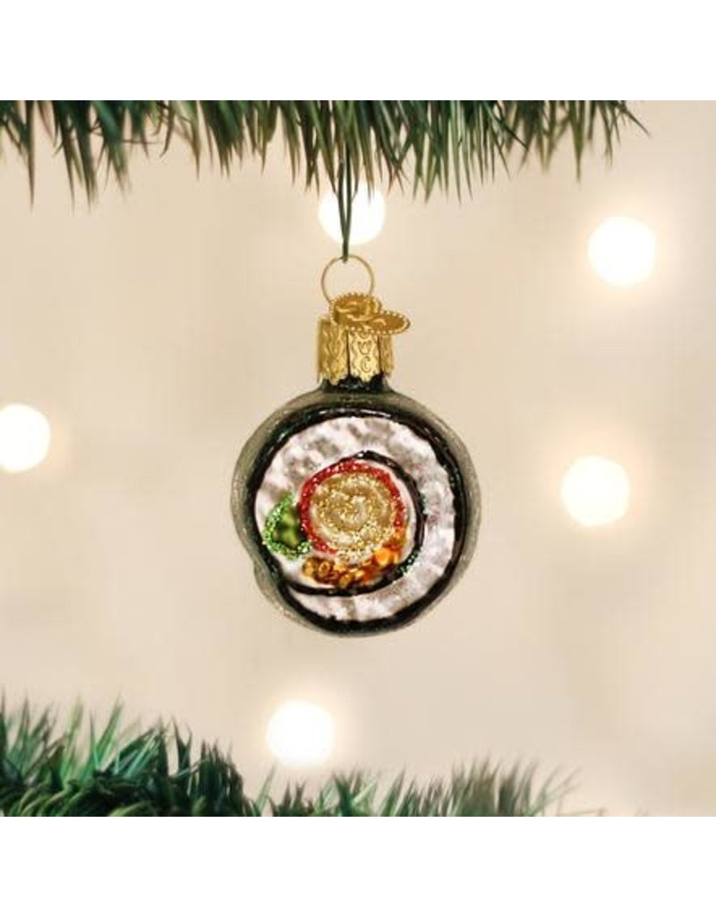 Old World Christmas Ornament Sushi Roll